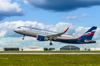AviaAM Financial Leasing China hands over the 7th Airbus A320 to Aeroflot