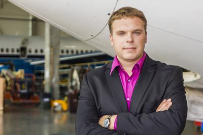 Deividas Jurkstas, the Head of FL Technics Engines and Component Management Dep