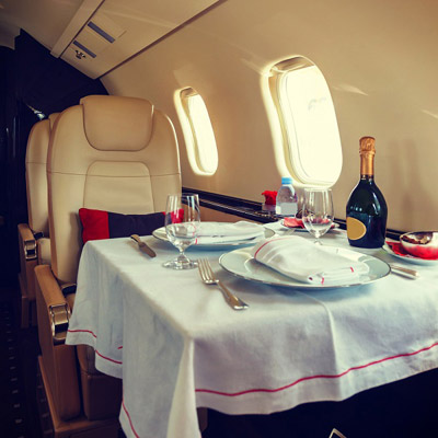 When quieter means tastier – science behind the amazingly good private jet food
