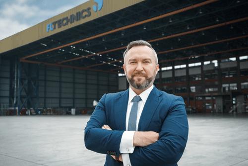 Martynas Grigalavicius, CEO of FL Technics Indonesia