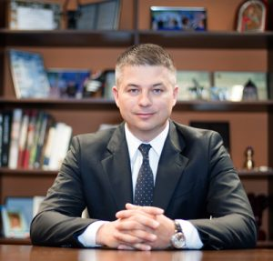 Gediminas Ziemelis chairman of Avia Solutions Group