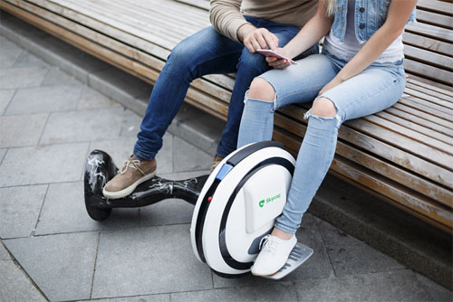 SKYCOP plans to tackle running between the airport gates with hoverboards
