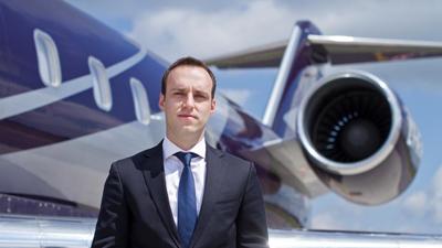 Vitalij Kapitonov, CEO of KlasJet