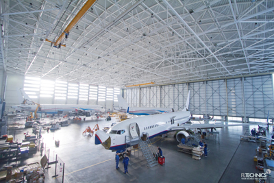 Yamal Airlines chooses FL Technics for Base Maintenance support in 2015