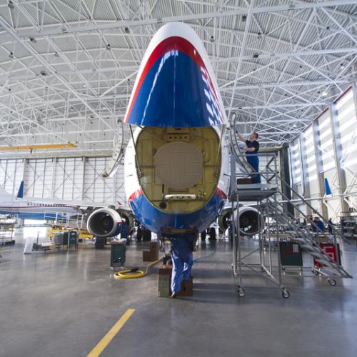 FL Technics hangar